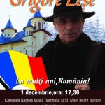Concert de colinde – 01.12.2013 – Grigore Leșe
